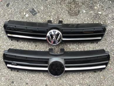 Volkswagen VW Grill Golf 7 MK7 R Grille