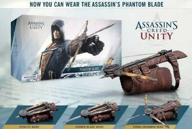 Assassin creed unity cosplay prop