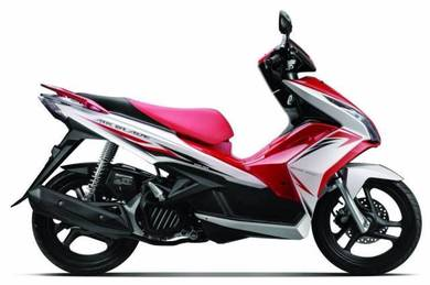 Honda air blade whole year promotion