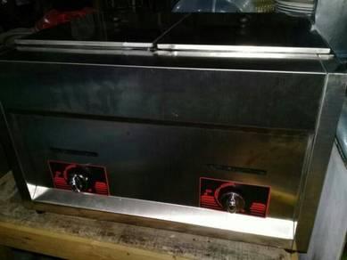 Deep Fryer Gas 2 tungku