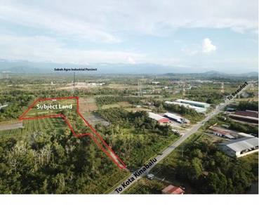 19.53 Acres Kimanis Residential + Industrial Land