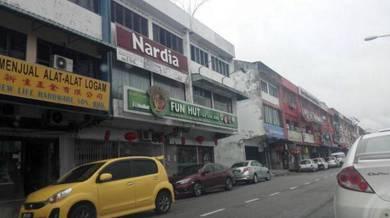 Johor jaya,jalan dedap,3 storey shoplot for sale