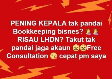 Accounting Bookkeeping , income tax form B , GST