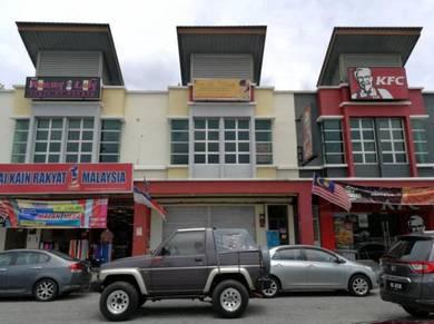 Ground floor Shop lot for rent Jasin Bistari