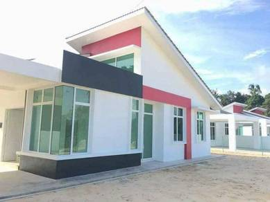 Semi-D Single Storey - Morden Design Taman Soi Permai, Freehold