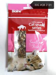 Bioline Swallow Fish Cat Snack Food Makanan Kucing