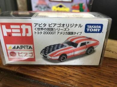 Tomica 2000 GT Flag America Apita