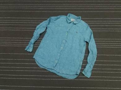 ARNOLD PARMER woman LINEN KEMEJA SIZE S TO M