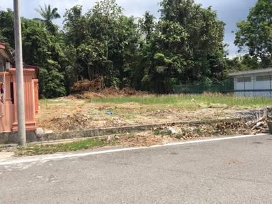 Bungarow land at Muar KG Tengah beside AMJ Highway
