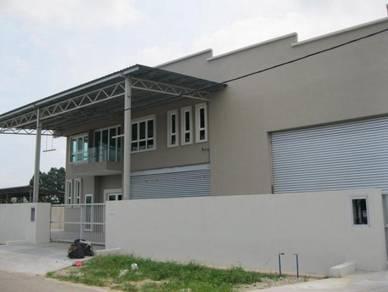 KRUBONG INDUSTRIAL Factory Warehouse 8700 sq fts (nearby DHL & VISHAY)