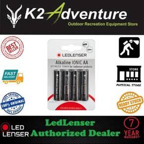 LED LENSER ALKALINE IONIC BATTERIES (AAA or AA)