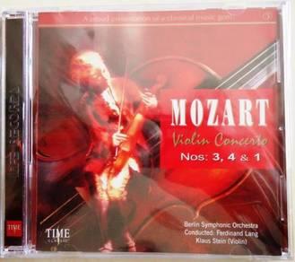 Classic Music CD Mozart Violin Concerto Nos.3, 4&1