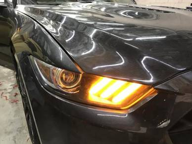 Ford mustang tail lamp modify Gt350 bodykit