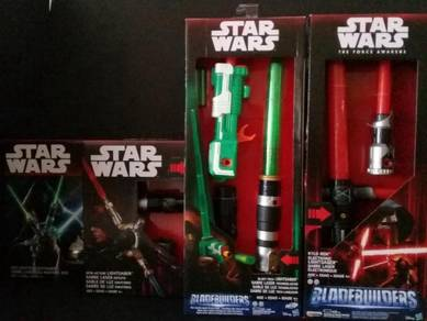 Jedi Kylo Ren Spin Action Blast Tech Lightsaber