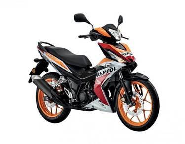 Honda rs150r repsol/trico promo (labuan)