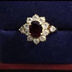 Regency Ring (size 5) in gold tone