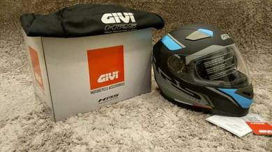 GIVI Fullface Turismo (Grey, Black Blue)