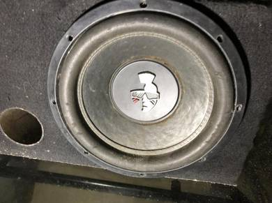Double coil woofer