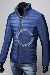 J7287 Winter Padded Warm Sweater Man Bubble Jacket