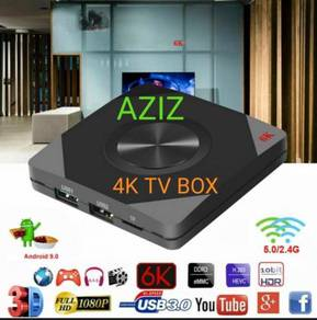 4K PRO  ANDROID TV BOX  Msia version complet tv box