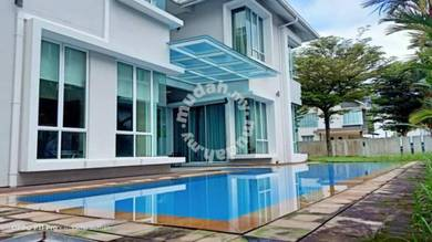 PRIVATE POOL 2 Storey Bungalow - Ukay Seraya Ampang, Fully Furnished