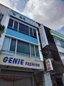 Taman Gaya shoplot with rental return