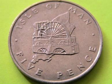 Isle of Man 5 Pence 1976