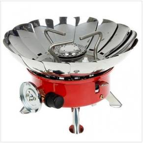 Portable WindProof Camping Stove Butane Gas Burner