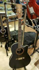 Crusader Ovation acoustic guitar with EQ