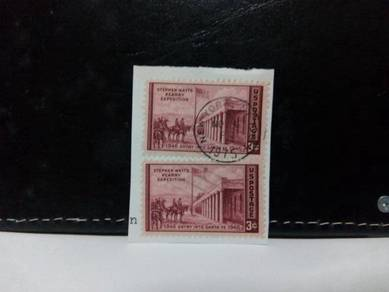 2 pcs 1946 USA Stamps