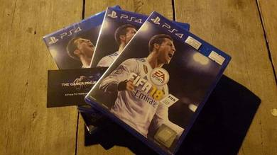 New & used ps4 games.fifa 18 new rm 175