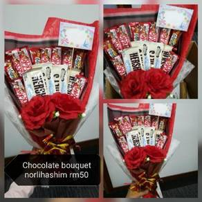 Chocolate Bouquet & flower bouquet