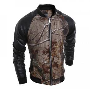 6461 Casual Wild Branches Printed Suit Jacket