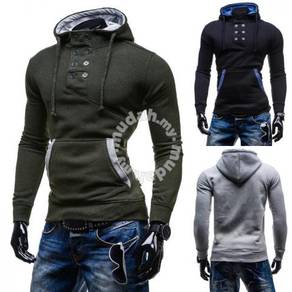 6436 Double-Breasted Casual Long-Sleeved Sweater