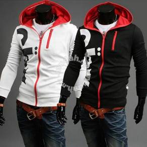 5928 Fashion Letters Hooded Sports Sweater Jacket