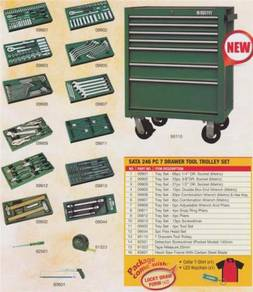 USA SATA 246PC 7 Drawers Tool Chest Set with tools