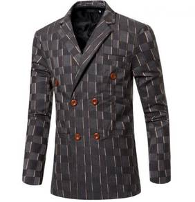 6208 Men's Double-breasted Suits Coat