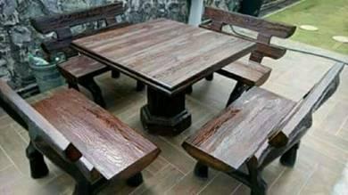 New garden table set