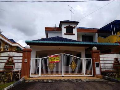Double sty Renovated SEMI-D, Taman Sri Kluang, KLUANG (jean)