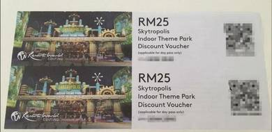 Genting Skytropolis, RM10 for RM25 worth Voucher