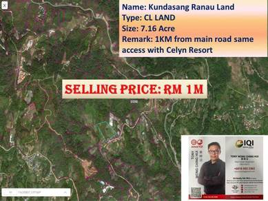 Kundasang Ranau Land for SALE