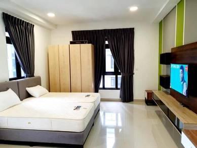 Meridin Medini, Iskandar Puteri, Studio Fully Furnished, Lowest Rent