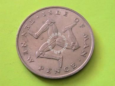 Isle of Man 10 Pence 1971