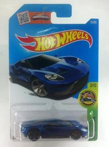 Hotwheels 2016 HW Exotics '17 Ford GT #3 Blue