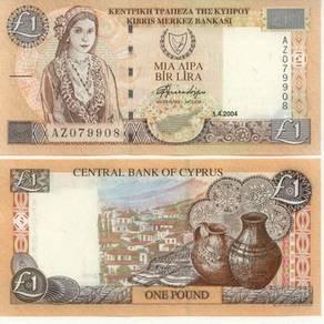 Cyprus 1 pound 2004 p 60 unc