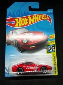 Hot Wheels Nissan Fairlady Z Greddy (Red)