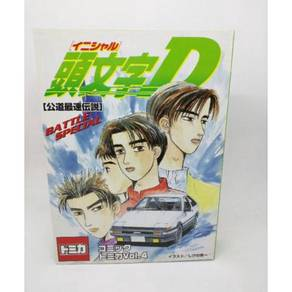 Tomica Tomy Initial D Vol. 4 AE86 Collection