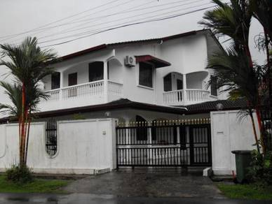 Uniquely Designed Double Storey Bungalow, 3rd Mile, Sherip Masahor