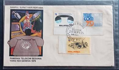FDC Pamiran Telekom Sedunia 1979