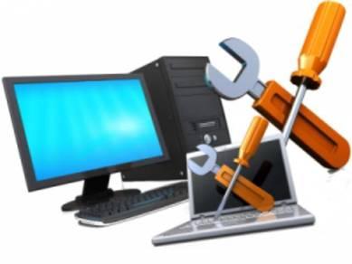 Service format/repair laptop & desktop